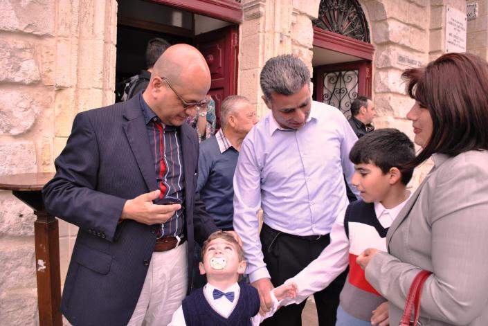 Birgu Family with Dr. Deo Debattista