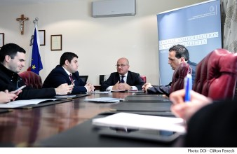 Parliamentary Secretary for Consumer Protection and Valletta 2018 Deo Debattista launches the Litter Act Public Consultation process